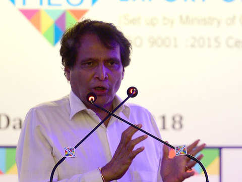 India worst sufferer of declining trade & slow global growth: Suresh Prabhu