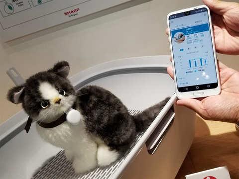 Sensors that can measure stress, posture rule big at Tokyo tech fair