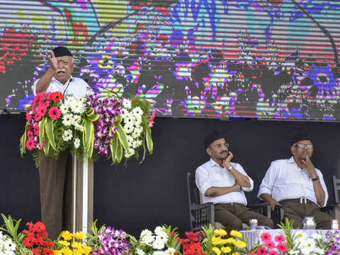 RSS chief Mohan Bhagwat sets BJP's electoral agenda