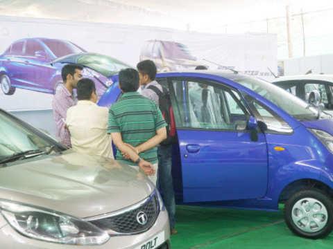 Share market update: Auto shares trade mixed; Tata Motors rises 2%