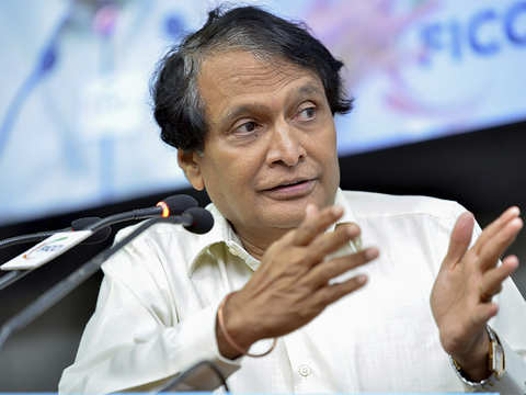 Suresh Prabhu indicates improvement in India's ranking in World Bank's doing biz index