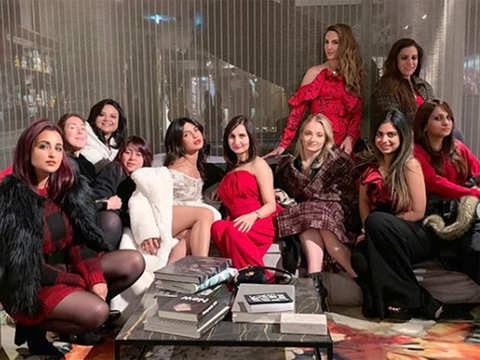 Isha Ambani joins Priyanka Chopra's bachelorette brigade in Amsterdam