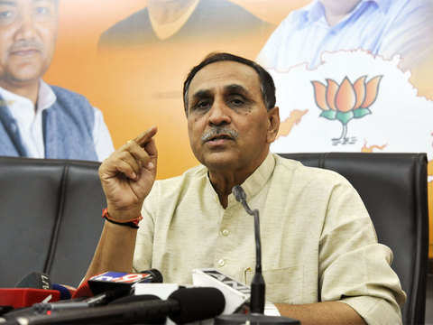 Looking at it from legal angles: Vijay Rupani on Ahmedabad name change