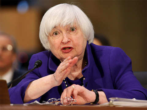 Yellen says Fed more to blame for wider trade deficit than China