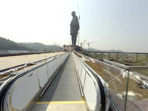 Statue of Unity to get air and rail connectivity