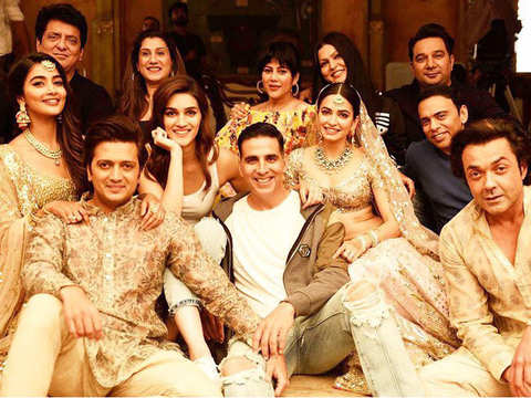 It's a wrap for 'Housefull 4'; movie may release in Diwali 2019