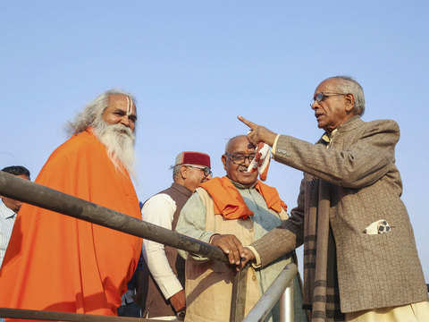 No formula dividing the dispute land will be acceptable for temple construction: VHP leader