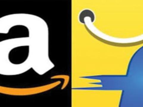 Amazon and Flipkart enjoy same run rate