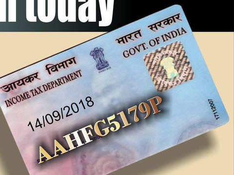 New PAN card rules that came into effect from December 5