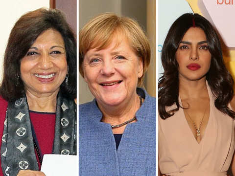 Kiran Mazumdar-Shaw, Priyanka Chopra join Angela Merkel on Forbes world's 100 most powerful women list