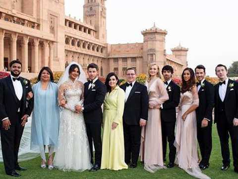 Priyanka Chopra shares family pictures from her wedding, captions it 'This is us'