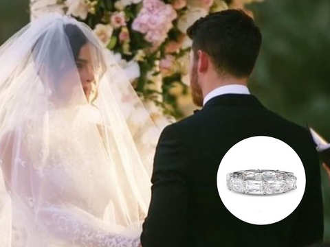 Priyanka Chopra's platinum wedding band will take your breath away