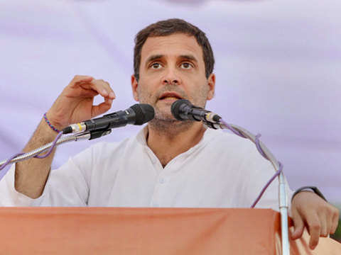 Rahul Gandhi hits back at Narendra Modi for 'gramophone' jibe with video of repeated references to Gandhis
