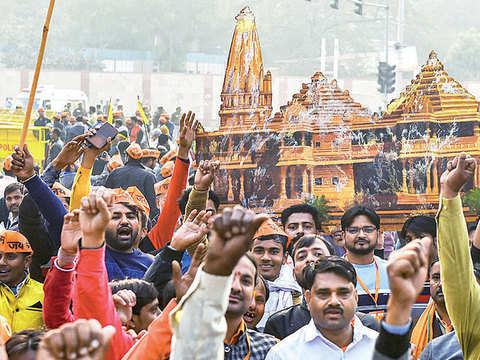 Fulfil promise on Ram mandir: Bhaiyyaji to BJP