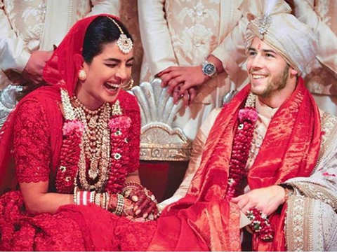 Nick Jonas shares throwback picture to celebrate one week of being married to Priyanka Chopra
