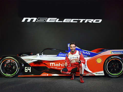 Mahindra Racing unveils M5 Electro race car in India