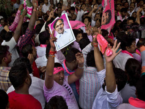 TRS to form government in Telangana, KCR returns as king
