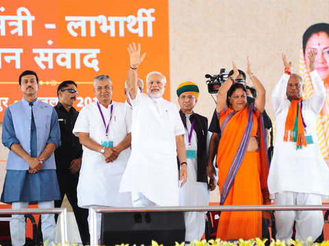 Rajasthan Polls: PM Narendra Modi's campaign gives BJP respect in defeat
