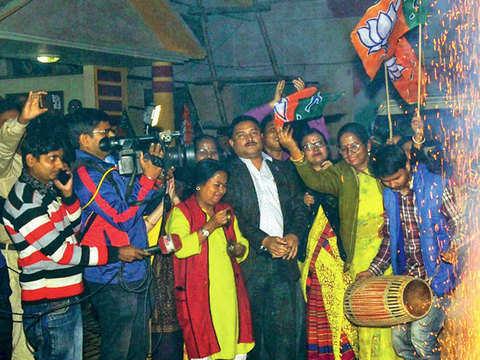 BJP does better than Congress at Assam local polls