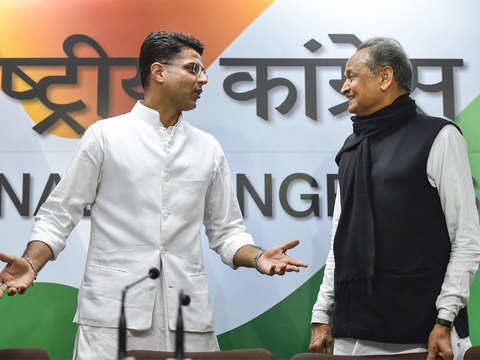 Ashok Gehlot's choice was a done deal from day one