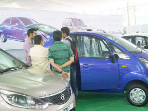 Share market update: Auto shares in the green; Tata Motors up 3%