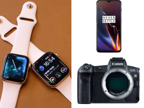 Apple Watch, OnePlus 6T, Canon EOS R: 5 powerful gadgets that arrived in India this year