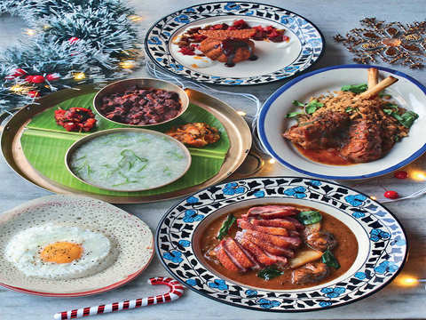 Not turkey or plum cake, a traditional Indian Christmas table is lined with Kulkuls, sannas & fruit wines