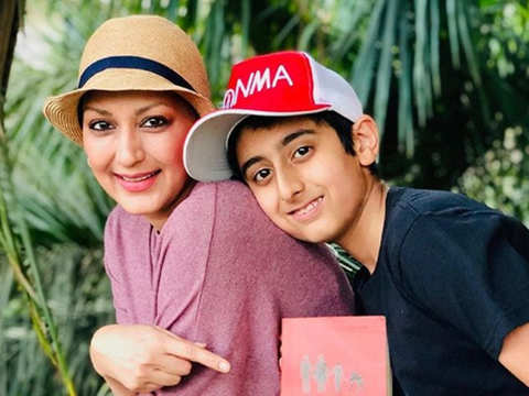 Sonali Bendre excited for first collaboration on book club with son