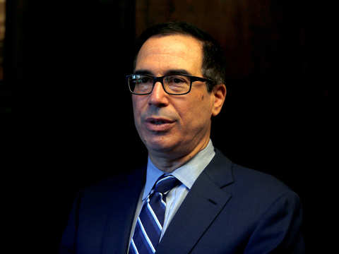 Mnuchin called top US banks in a bid to ensure market stability
