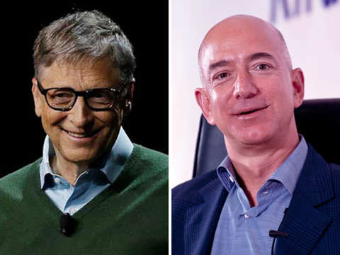 One thing Bill Gates, Jeff Bezos have in common: They both do the dishes every night
