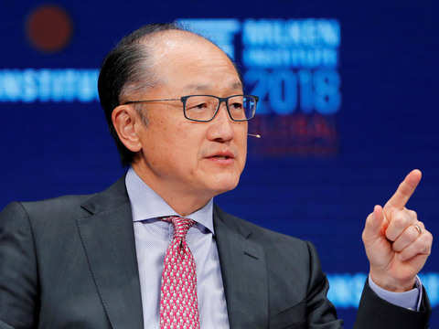 World Bank's Kim to resign effective Feb 1, work on infrastructure