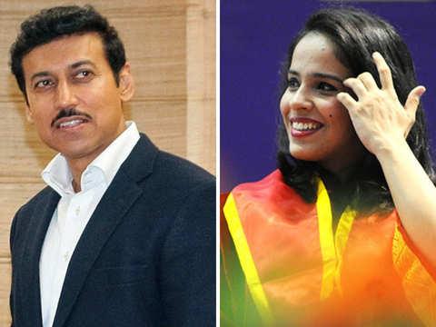 Saina game for Rathore's #5MinuteAur challenge, tags hubby & Shikhar Dhawan