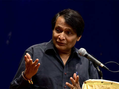 Make GST input tax credit claims online: Suresh Prabhu