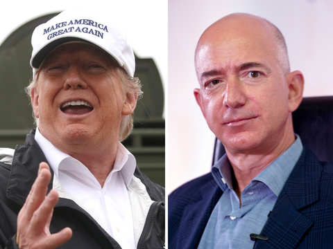 Donald Trump finds a silver-lining in Jeff Bezos's divorce, says it will be 'a beauty'