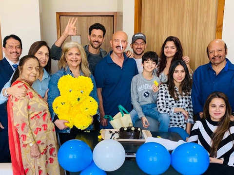 Power of love: Hrithik says dad Rakesh Roshan is 'up and about' after surgery