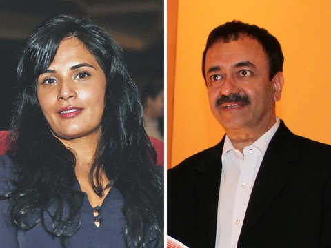 B'wood largely silent about #MeToo allegations on Hirani and Richa Chadha may know why