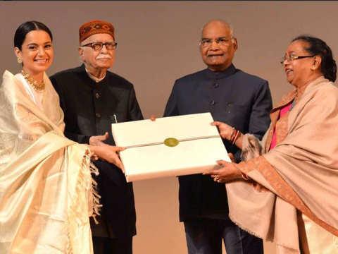 Special screening of 'Manikarnika' for Ram Nath Kovind; President felicitates cast & crew