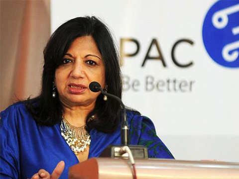 Biocon chief Kiran Mazumdar-Shaw wants Congress to commit to growth of digital economy