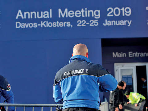 Year of reckoning follows men, & one woman, to Davos