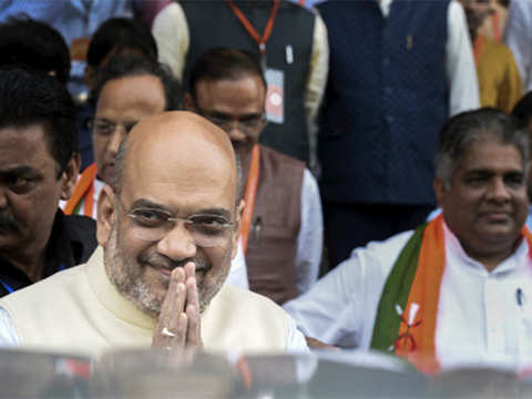 Didi's FIRs are blessings, says Amit Shah