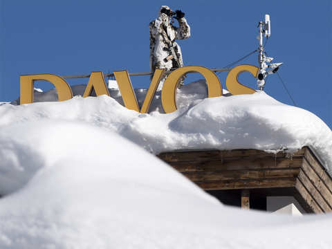 Is Davos like a group therapy session towards happiness for the world's elite?