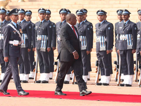 India celebrates 70th R-Day in presence of SA President Cyril Ramaphosa