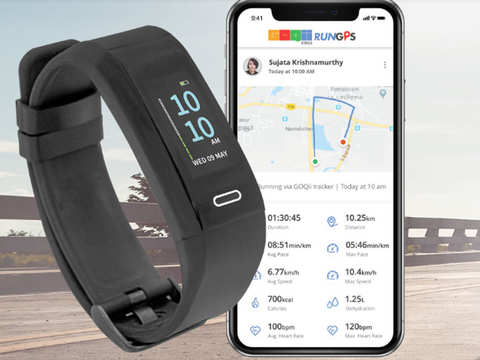 GOQii unveils Run GPS, a smart band integrated with 'Marathon Coaching' at Rs 4,999