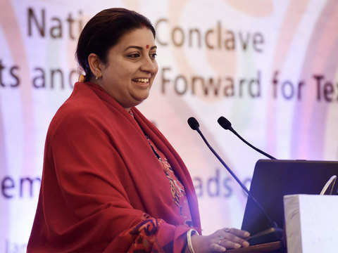 Textiles minister Smriti Irani calls for innovation in tech textiles sector