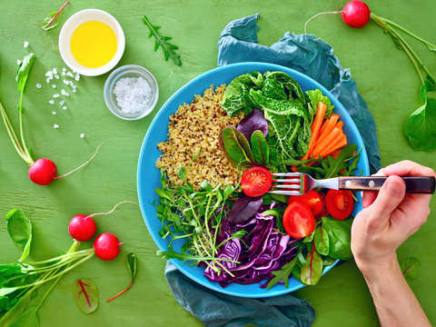 Want a healthy gut? Switching to a vegan diet is beneficial