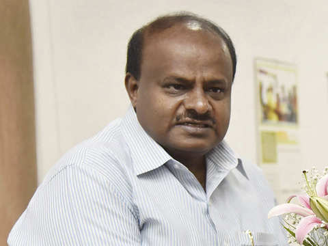 No threat to JDS-Congress government; Congress MLAs happy with me: H D Kumaraswamy