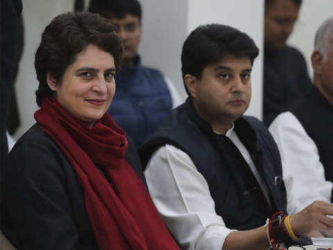 Meetings till midnight & roadshow await Priyanka Gandhi, Jyotiraditya Scindia in Lucknow