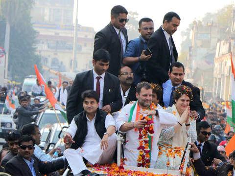 Priyanka Gandhi 'doosri Indira' for UP Congress cadre