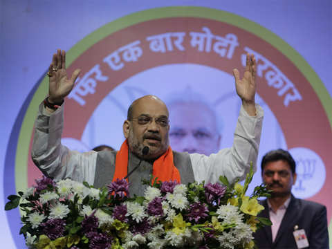 Brother not married, so sister has come: Amit Shah on Congress 'dynasty'