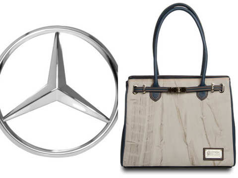 Mercedes-Benz and Destroy vs. Beauty have come up with a bag that has been run over by a car